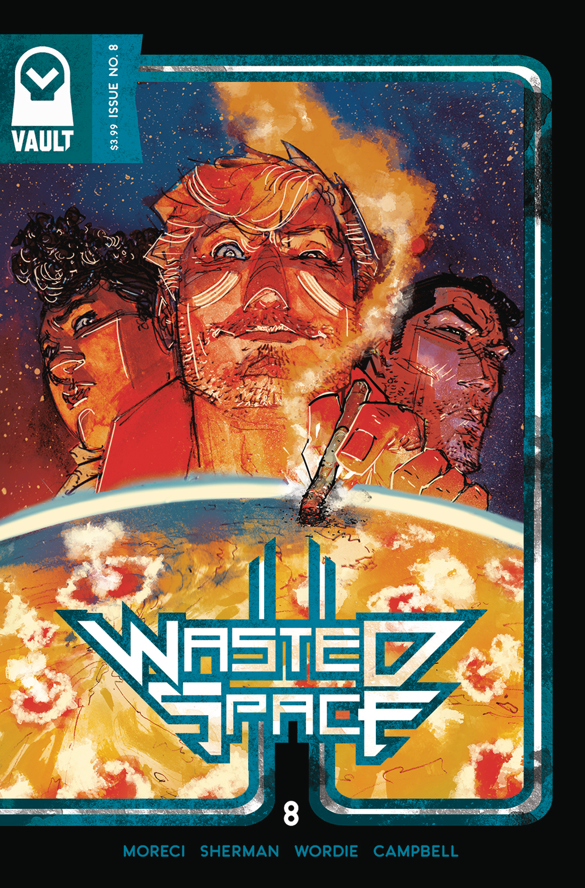Wasted Space #8  is out 3/27/2019.