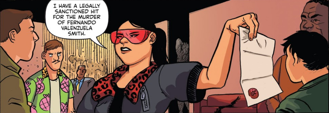 With those glasses and that attitude, it's like this comic is carrying out a hit on my heart.