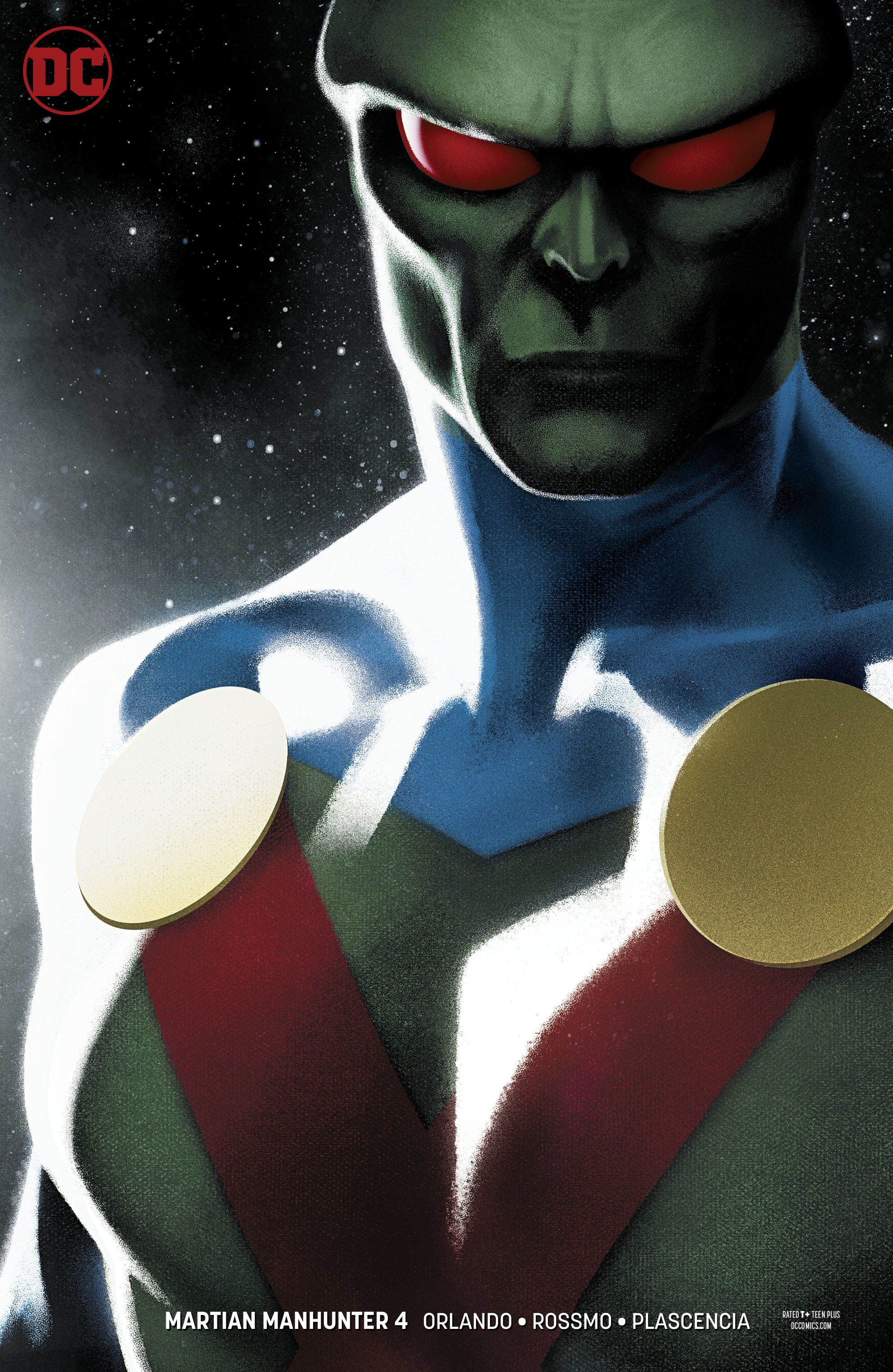 Martian Manhunter #4  is out now.