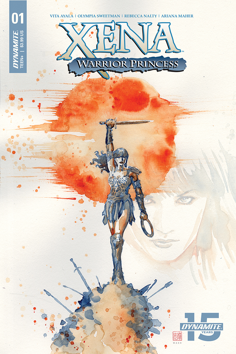 Xena Warrior Princess #1  is out 4/16/2019.