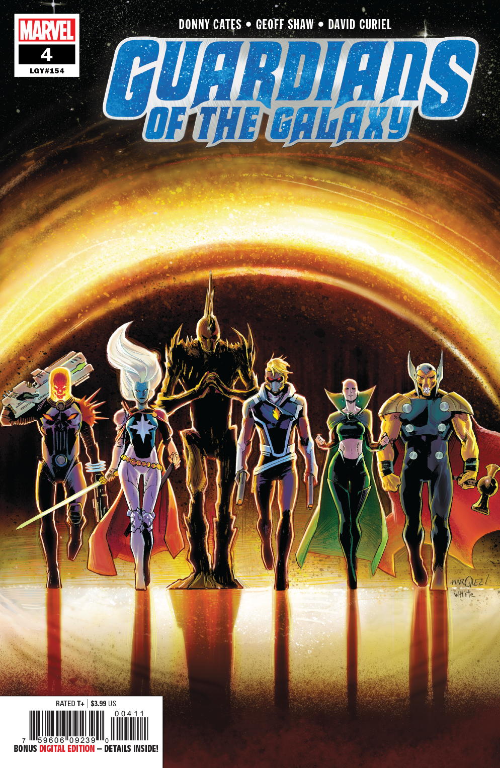Guardians of the Galaxy #4  is out 4/17/2019.