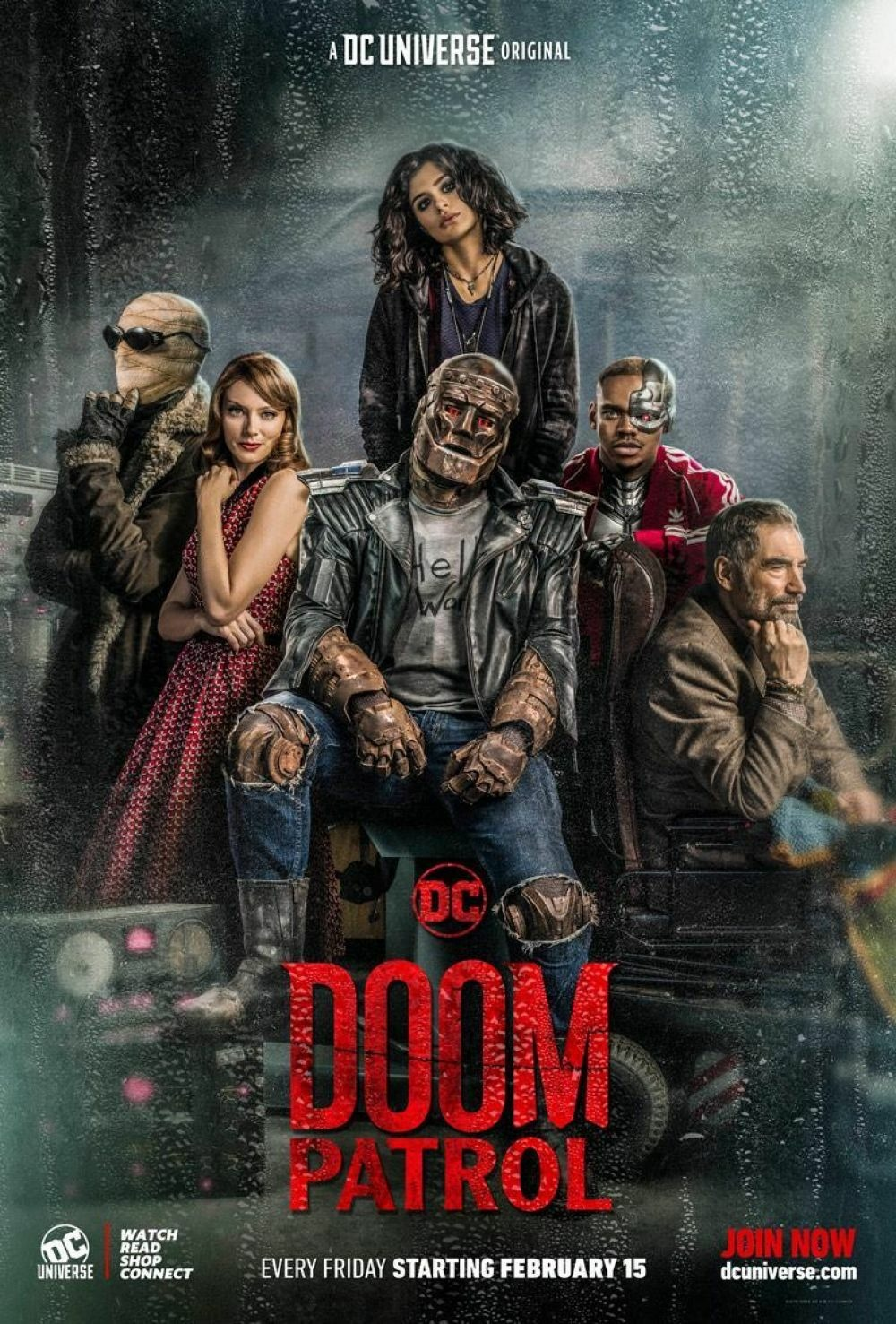 Doom Patrol  is streaming on  DC Universe  now.
