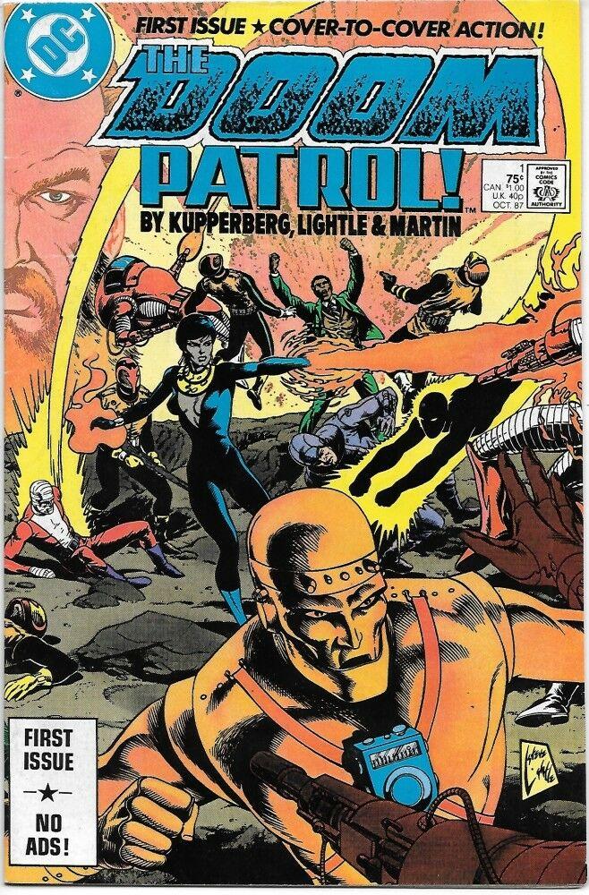 Doom Patrol Comics Guide Part 2 Comics Bookcase