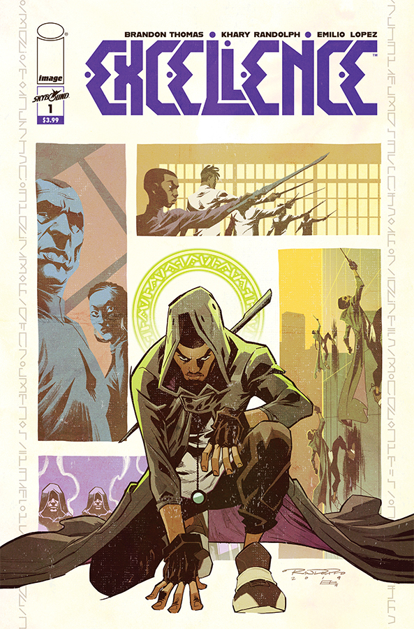 Excellence #1  is out 5/8/2019.