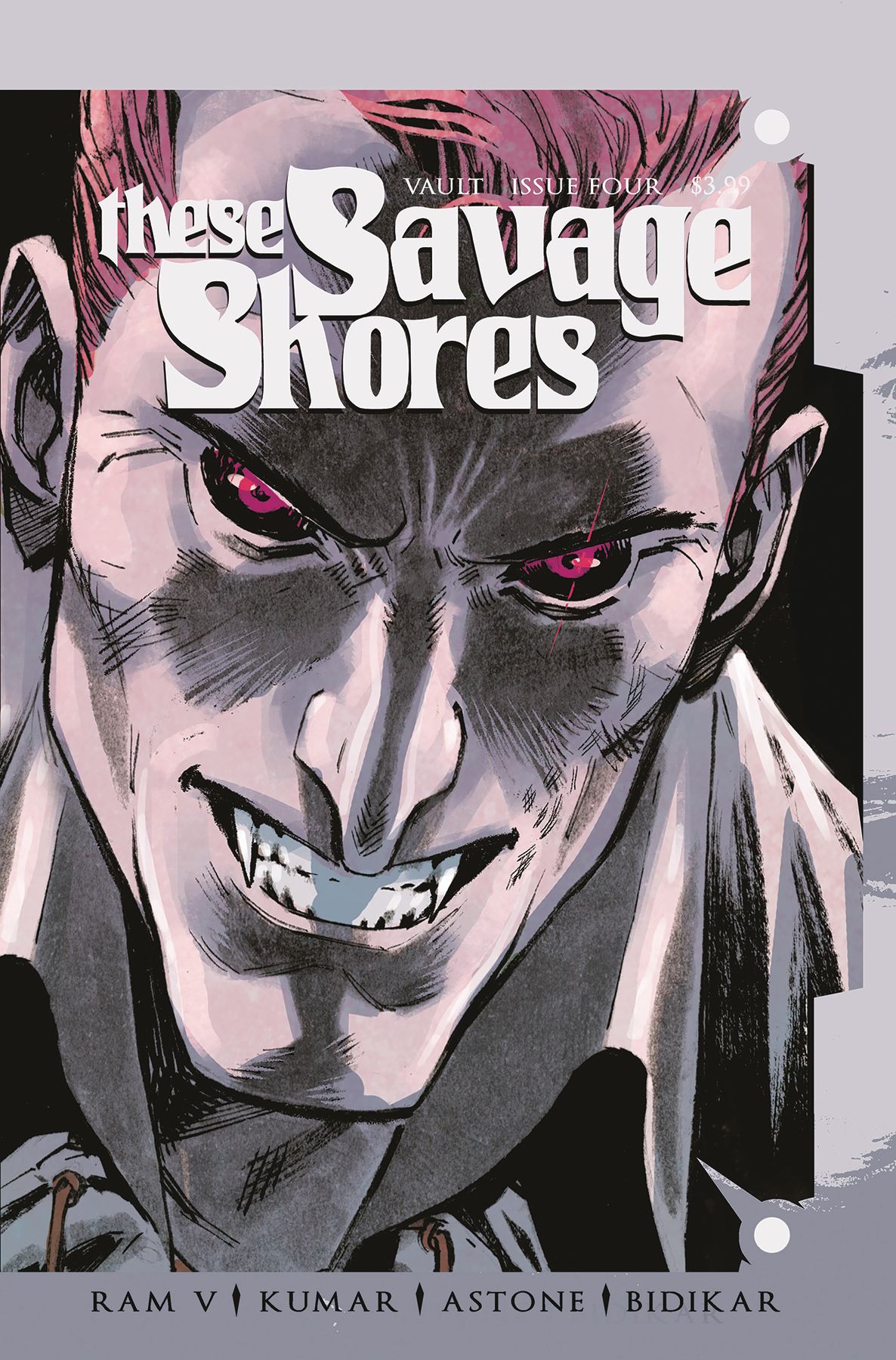 These Savage Shores #4  is out 5/8/2019.