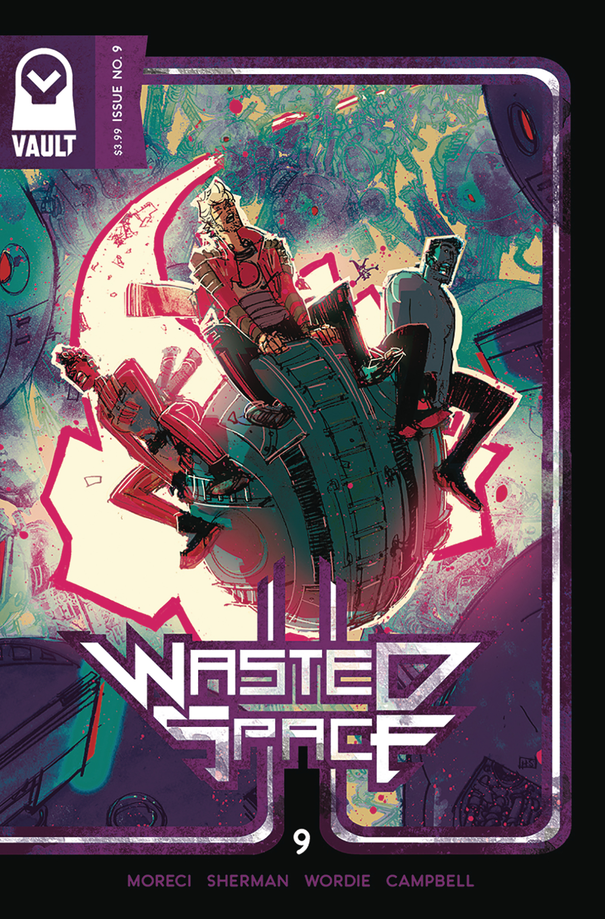 Wasted Space #9  is out 5/8/2019.