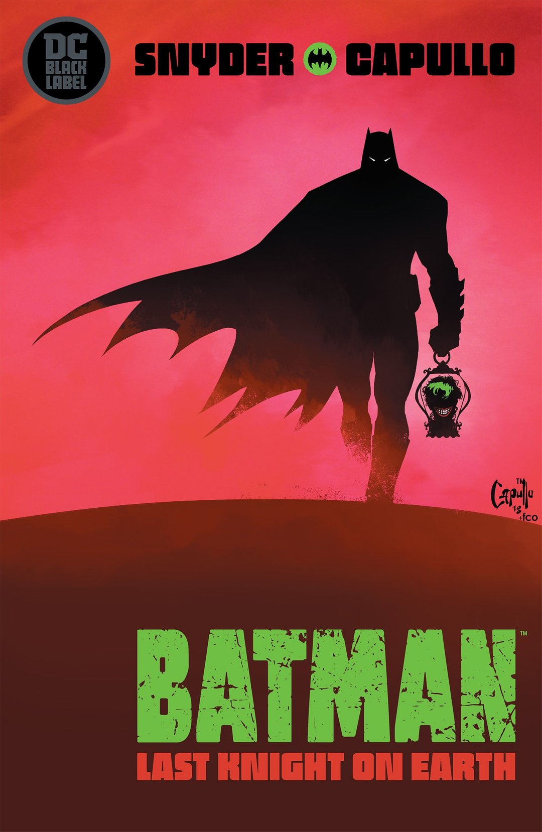 Batman: Last Knight on Earth #1 (of 3)  is due out 5/29/2019.
