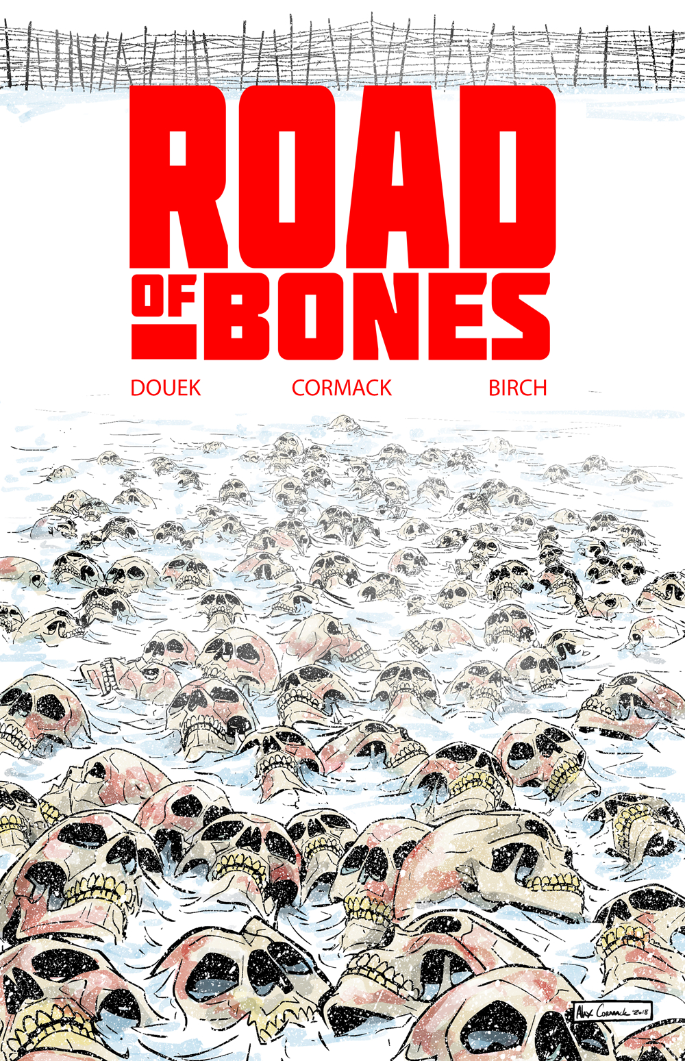 Road of Bones #1 is out now.