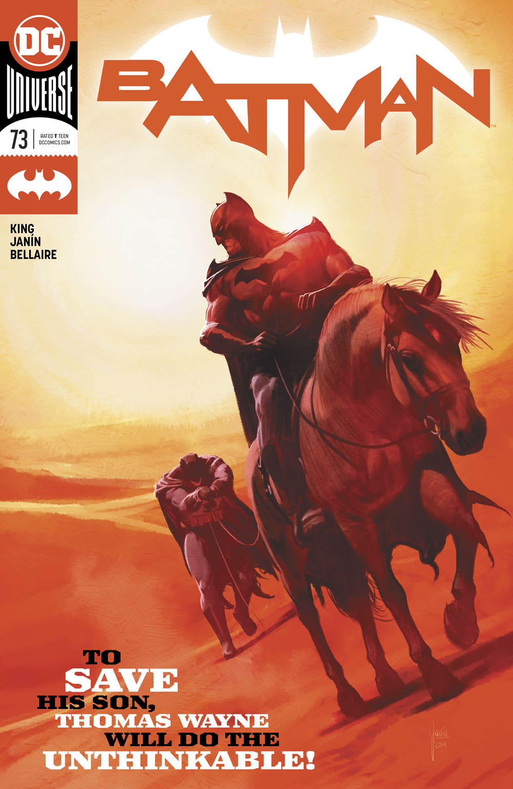 Batman #73  is out now.