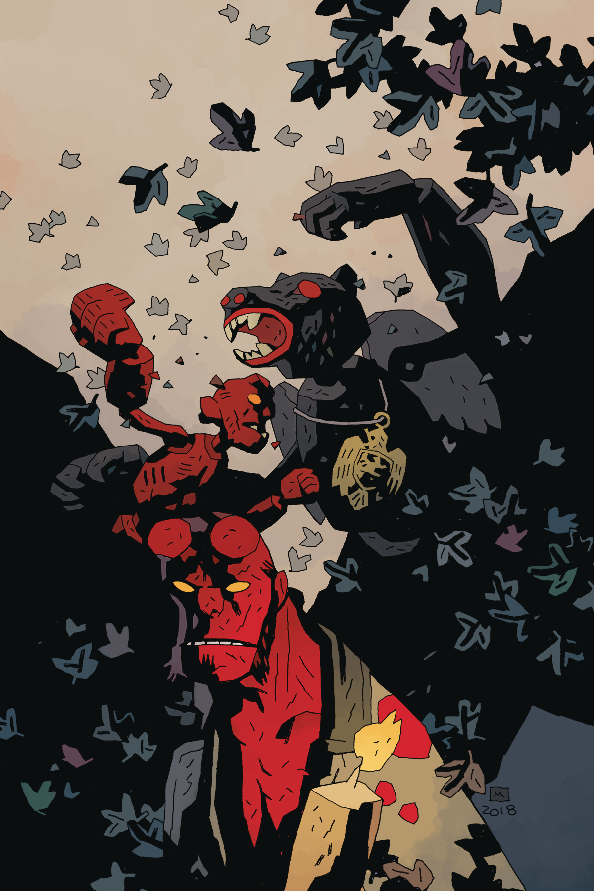 Hellboy and the BPRD - The Beast of Vargu  is out now.
