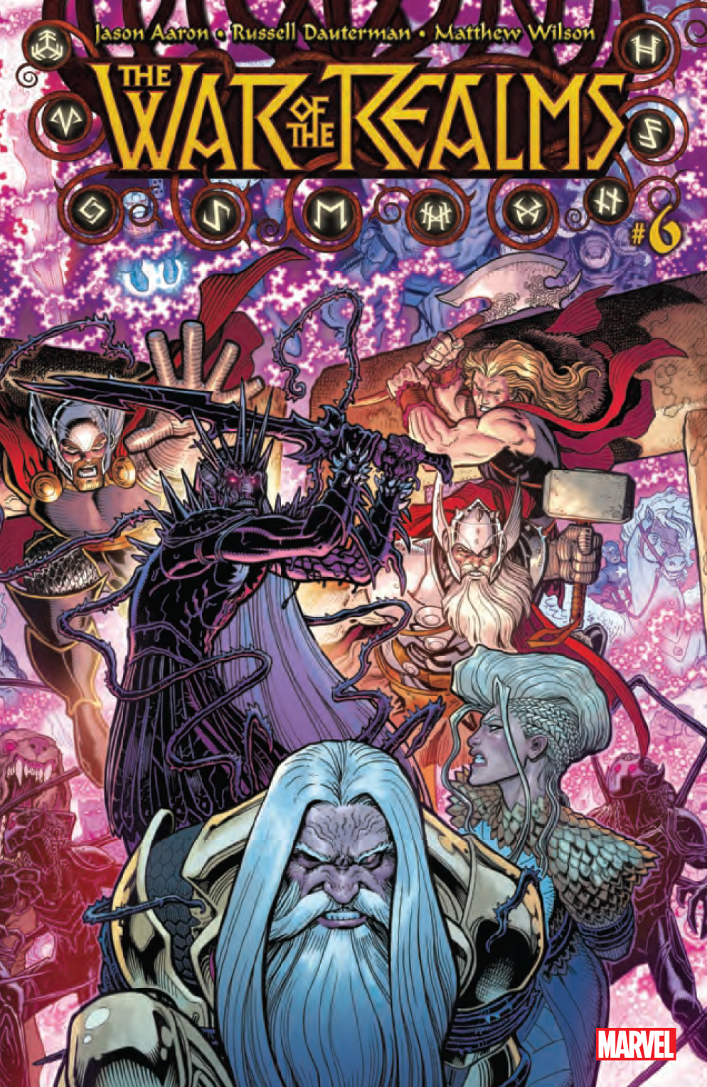 War of the Realms #6  is out now.