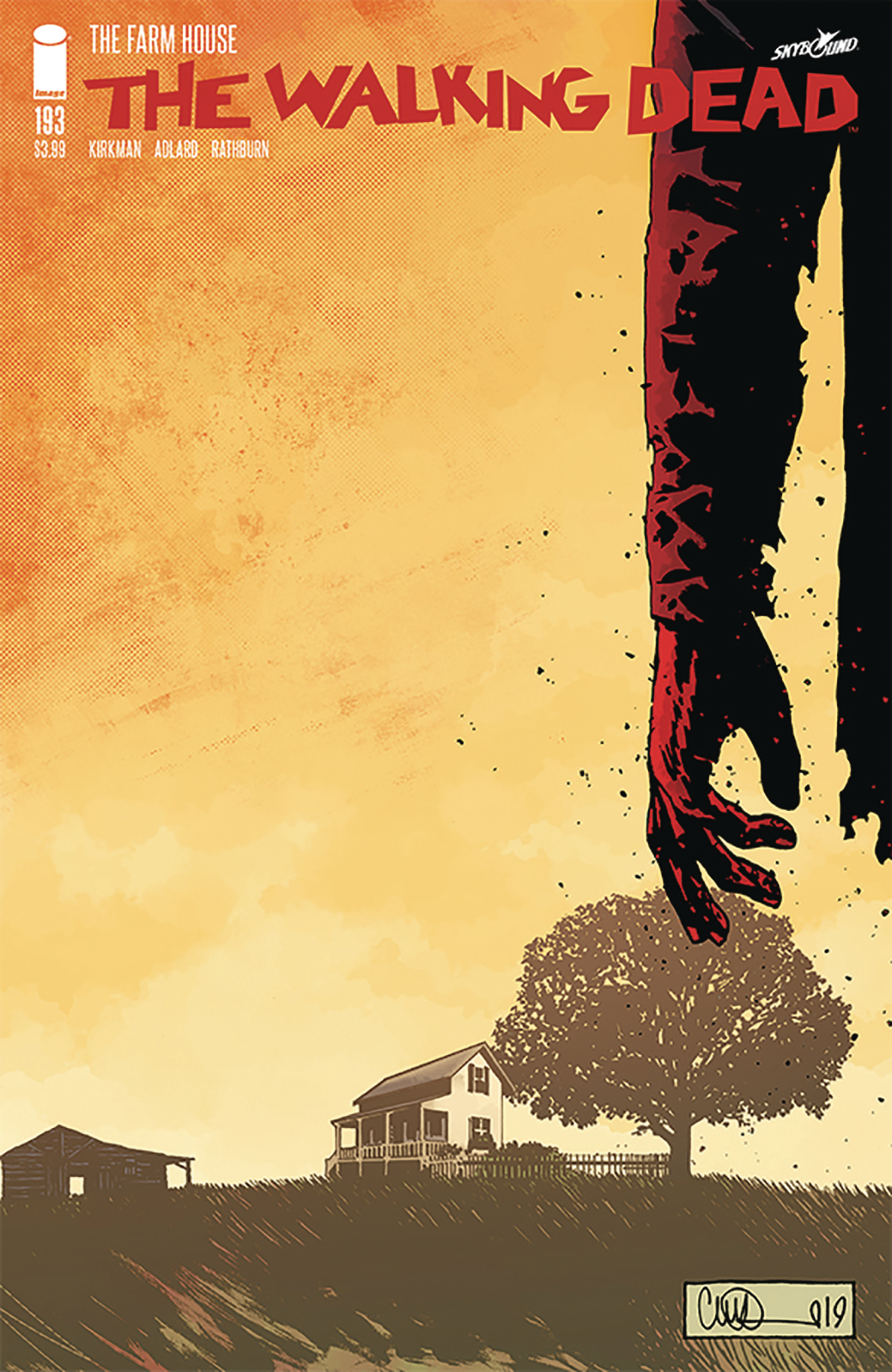 The Walking Dead #193  is out now.