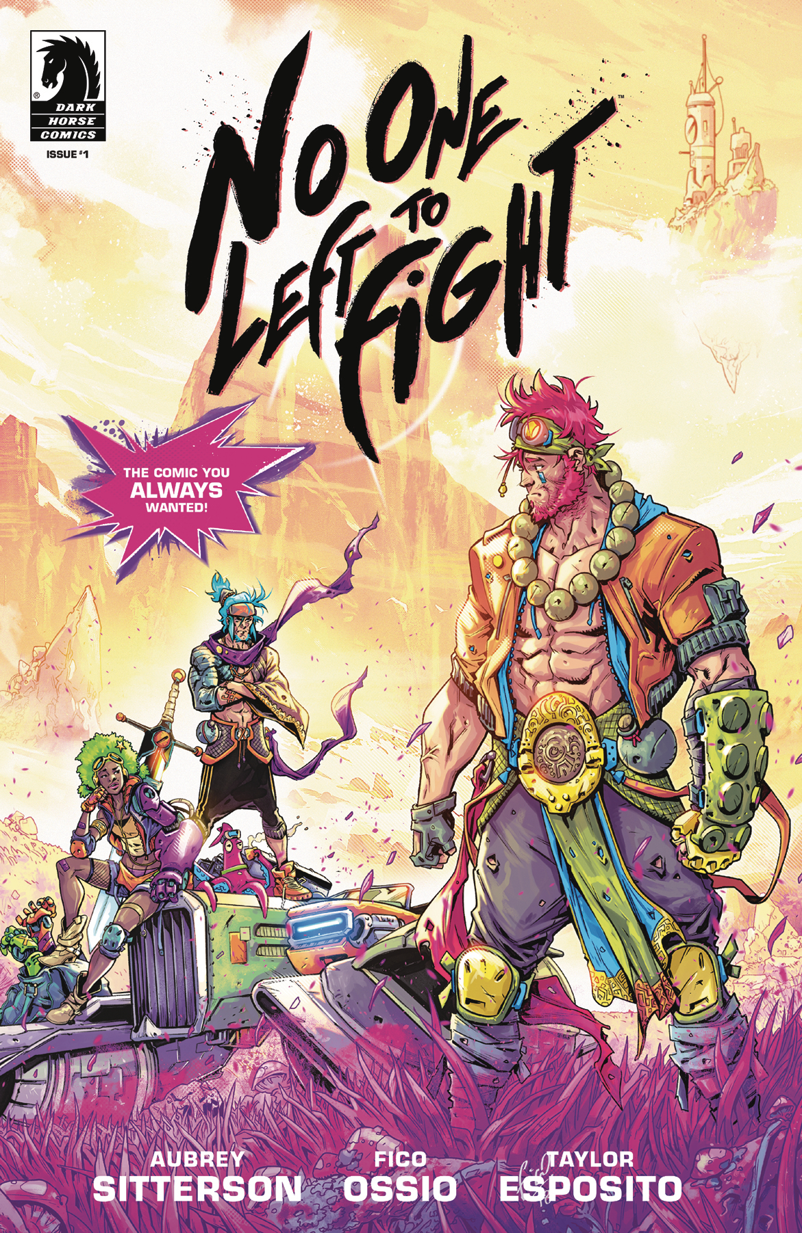 No One Left to Fight #1  is out now.