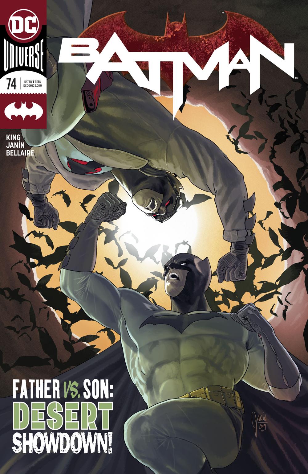 Batman #74  is out now.