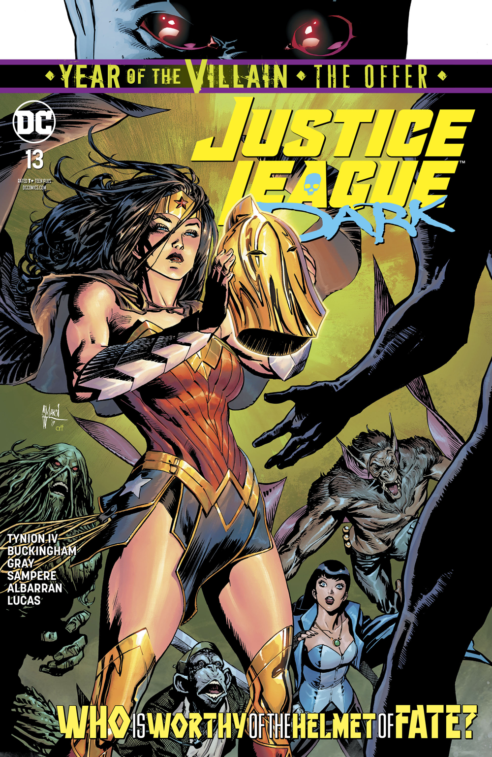 Justice League Dark #13  is out now.
