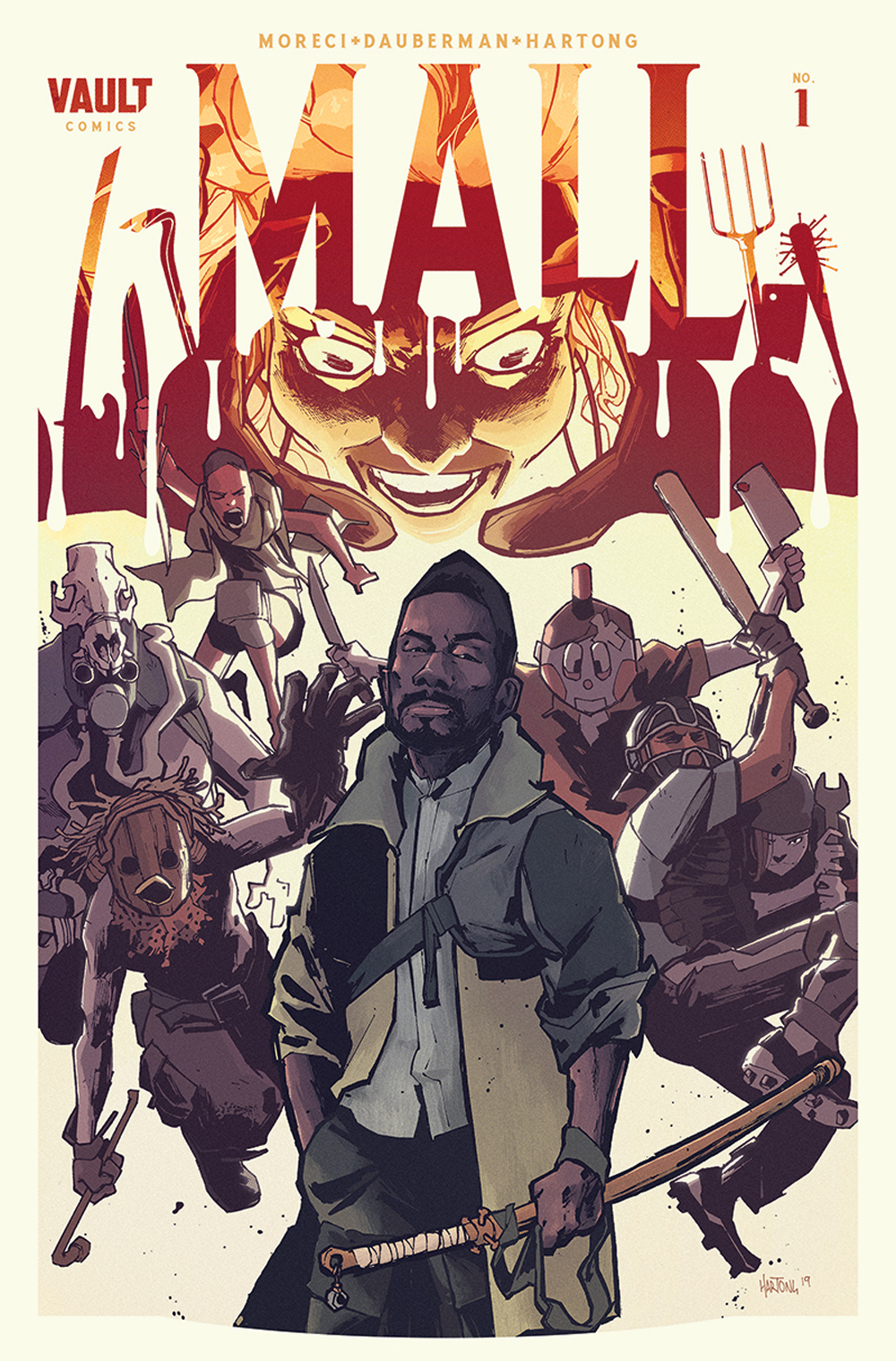 The Mall #1  is out Aug. 28, with final orders due on Aug. 5.