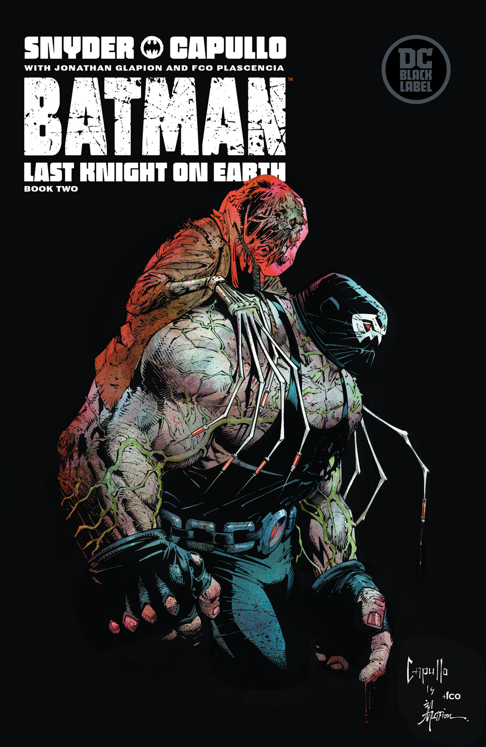 Batman: Last Knight on Earth #2  is out now!