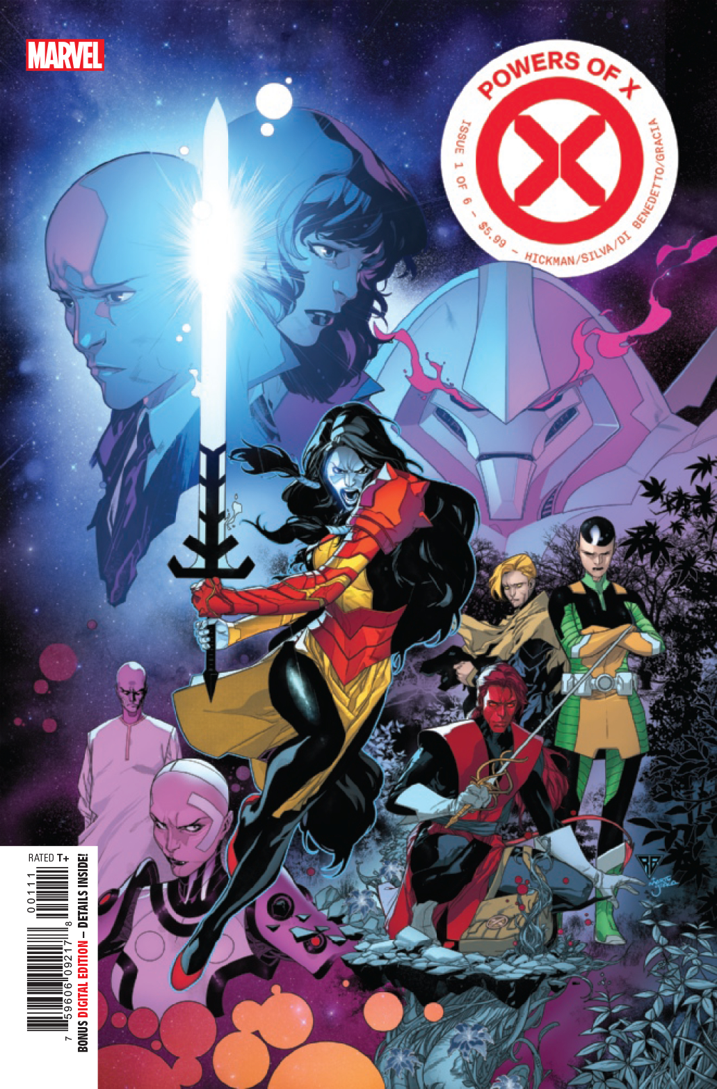 Powers of X #1  is out now!