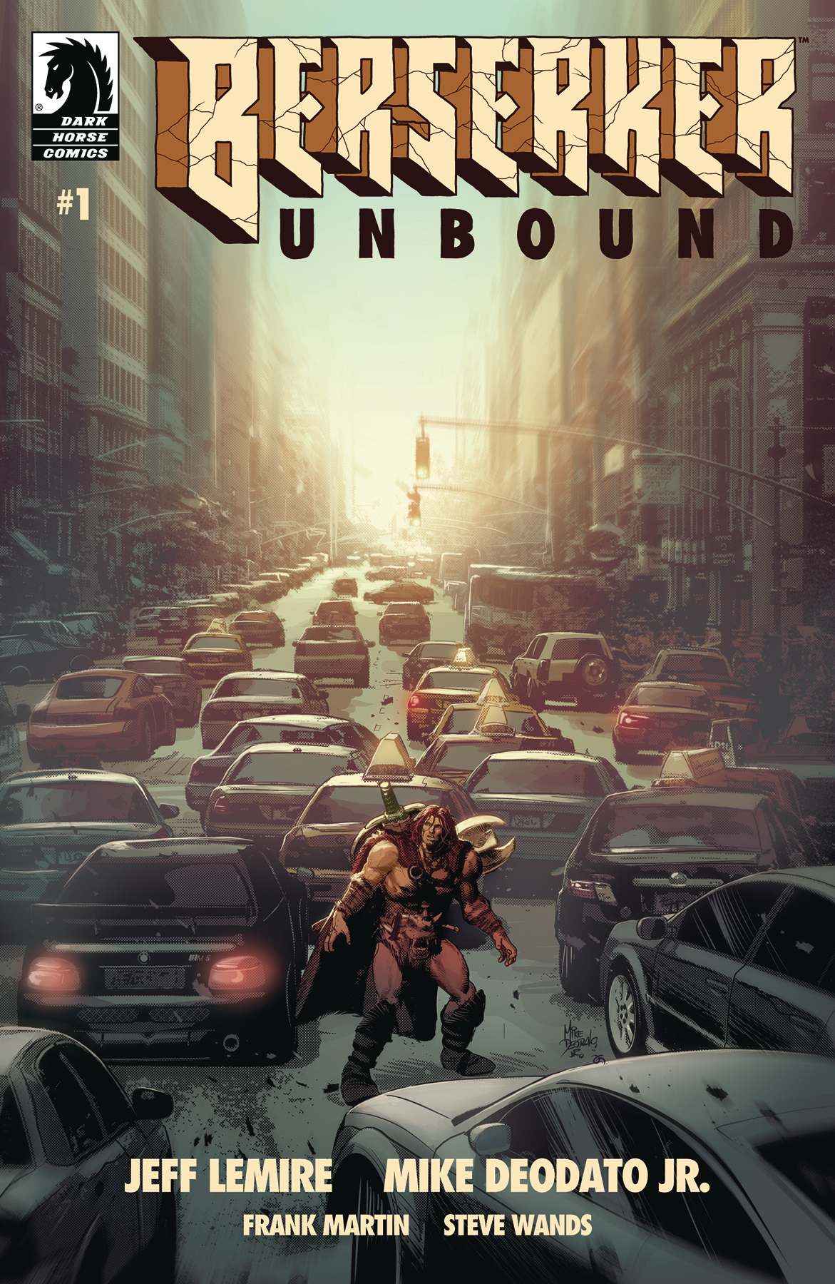 Berserker Unbound #1  is out today!