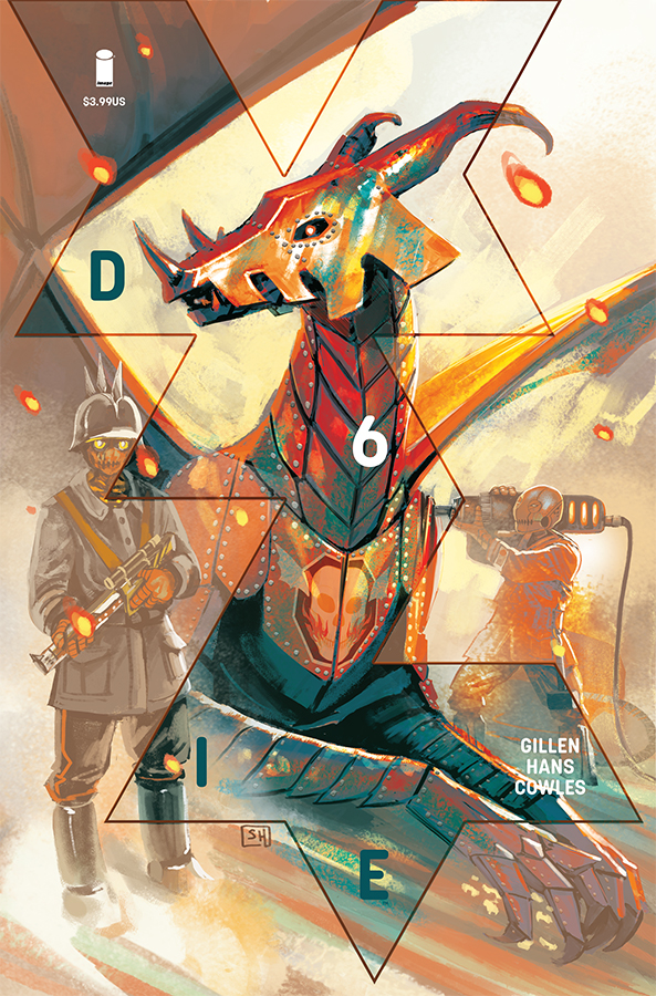 Die #6  is the 8/7/2019 Comic of the Week.