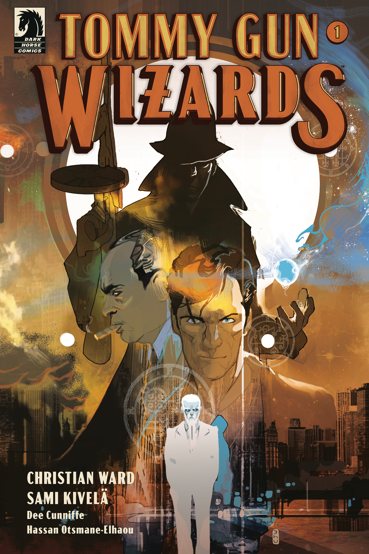 Tommy Gun Wizards #1  is out 8/28/2019.