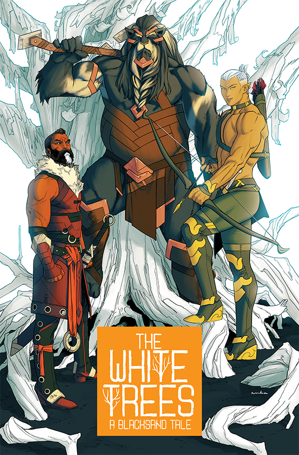 White Trees #1  is out 8/14/2019.