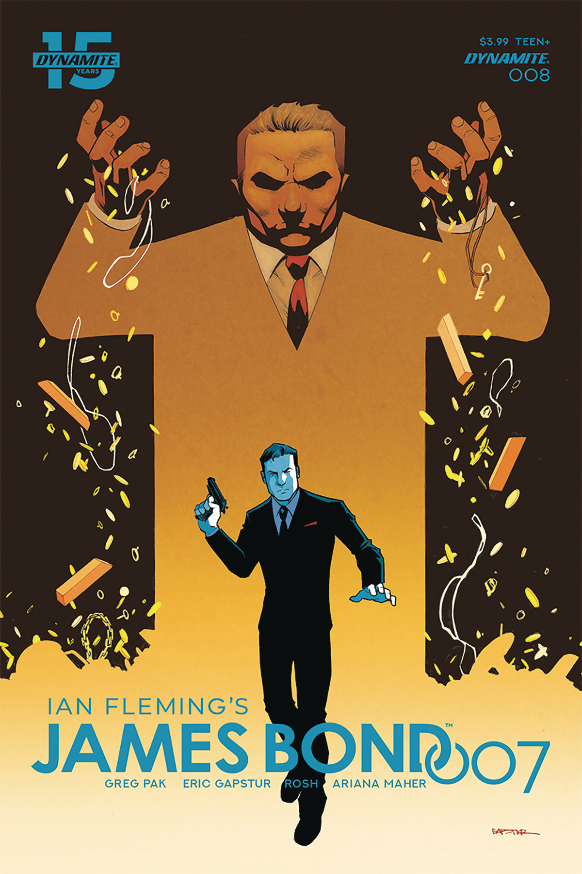The next  James Bond  comic is slated to hit shops in December. This cover is from returning series artist Eric Gasptur's last work with the character.
