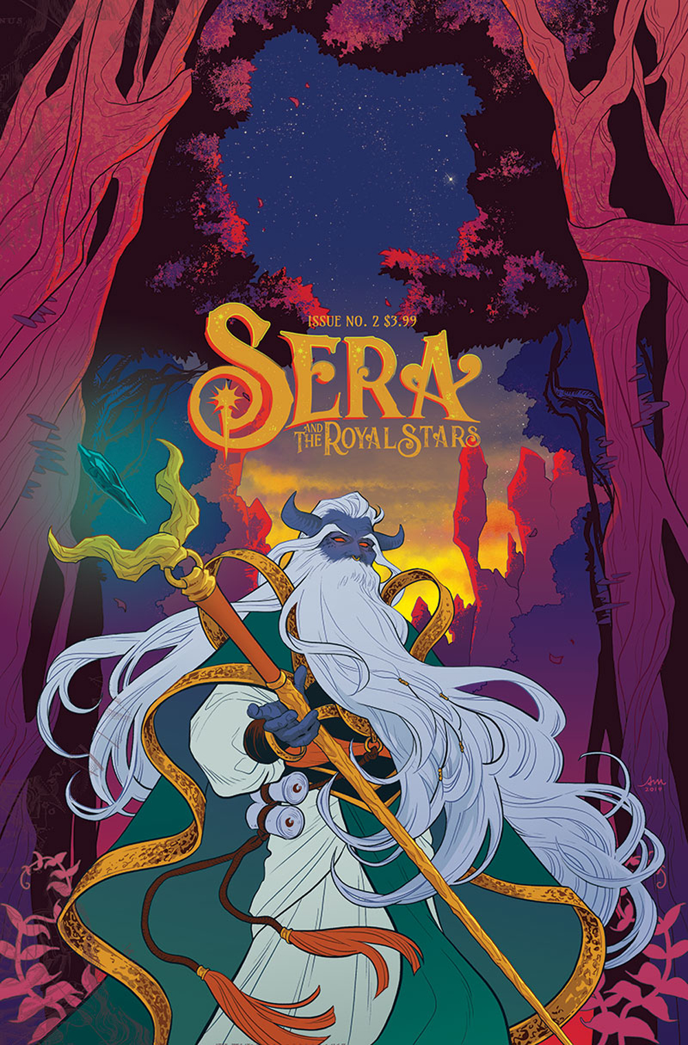 Sera and the Royal Stars #2  is out now.