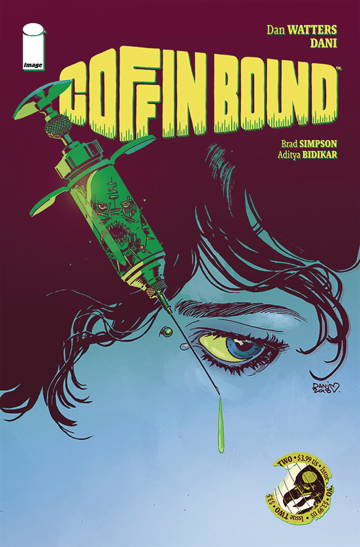 Coffin Bound #2  is due out 9/11/2019.