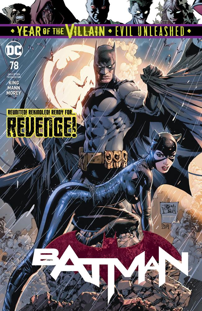 Batman #78  was released on 9/11/2019.