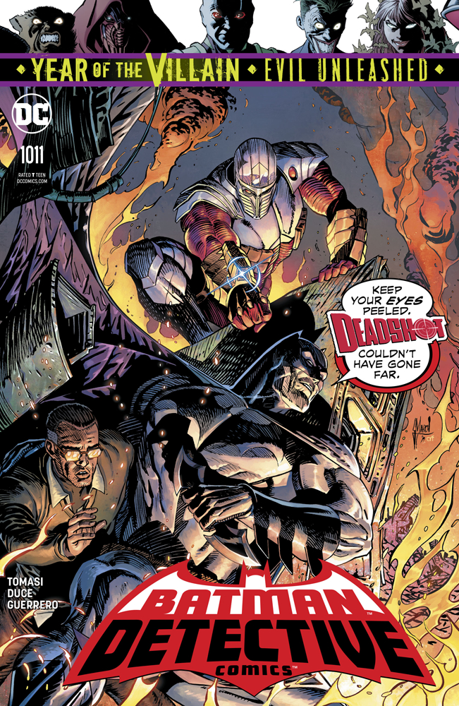 Detective Comics #1011  was released on 9/11/2019.