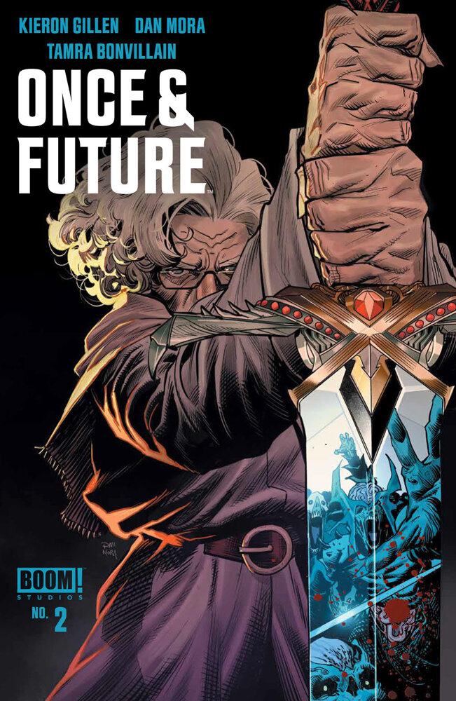 Once and Future #2  is out 9/18/2019.