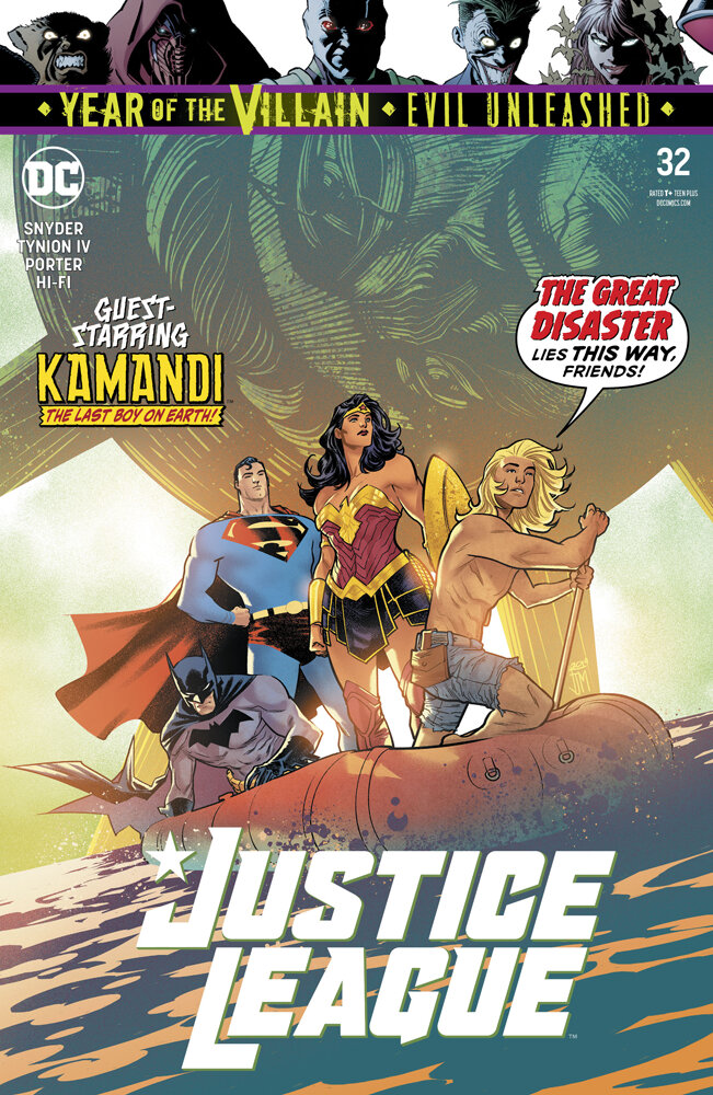Justice League #32  is out 9/18/2019.