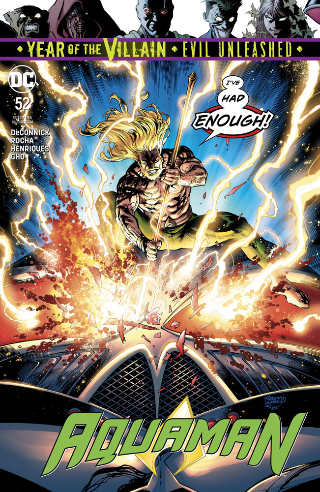 Aquaman #52  is out 9/18/2019.
