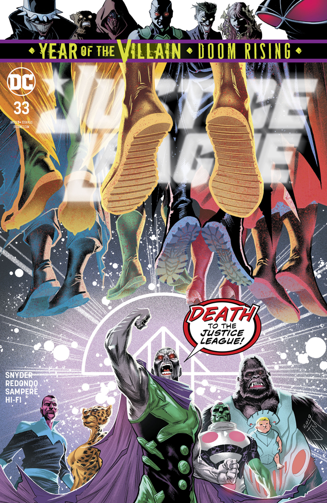 Justice League #33  is out today.