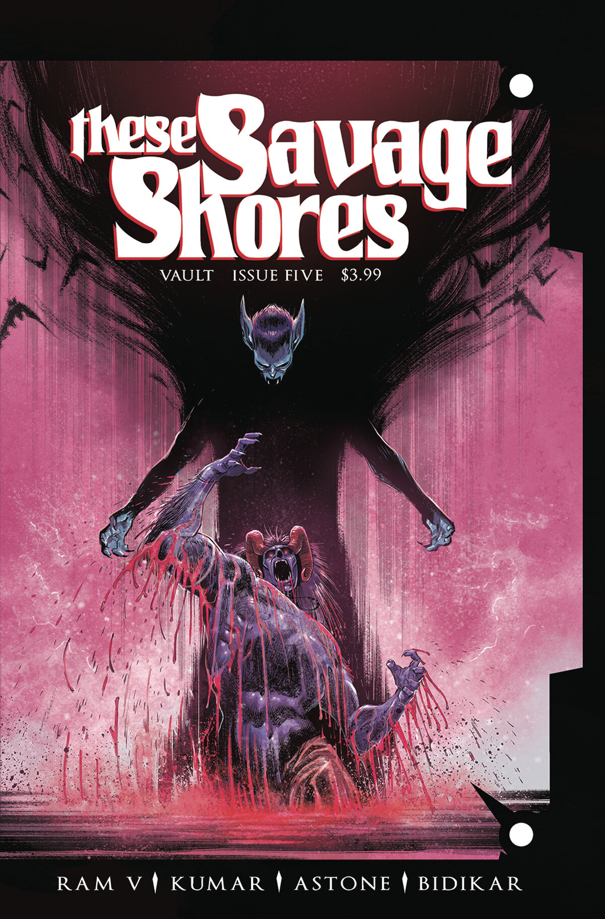 These Savage Shores #5  was released on 10/9/2019.