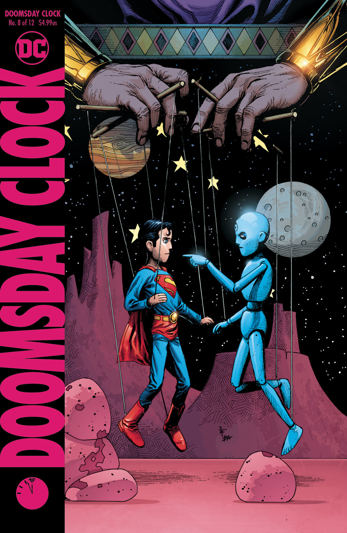 Watchmen Doomsday Clock And Finding Love And Hope In Political