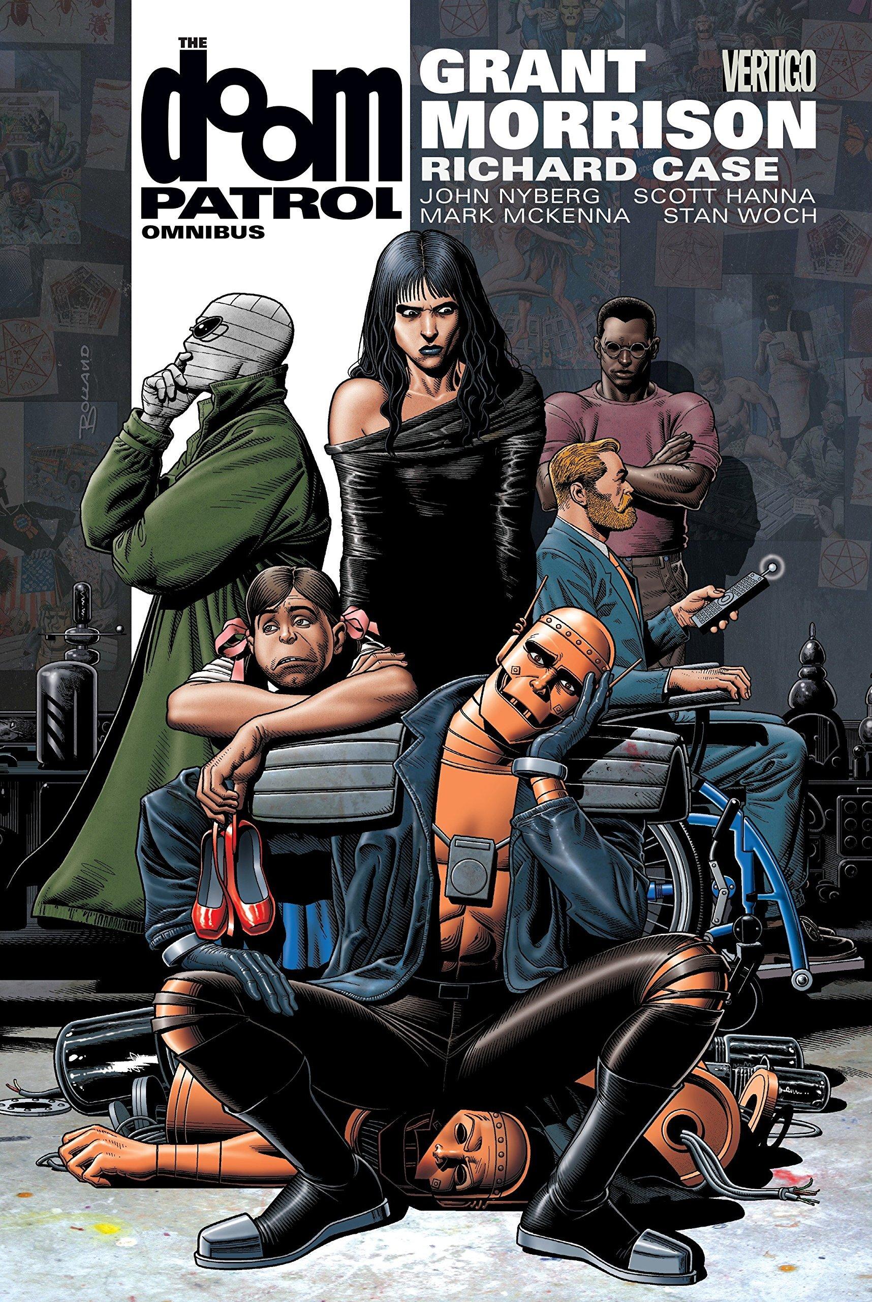 Writer Craig Hurd Mckenney Recommends Doom Patrol Omnibus Comics