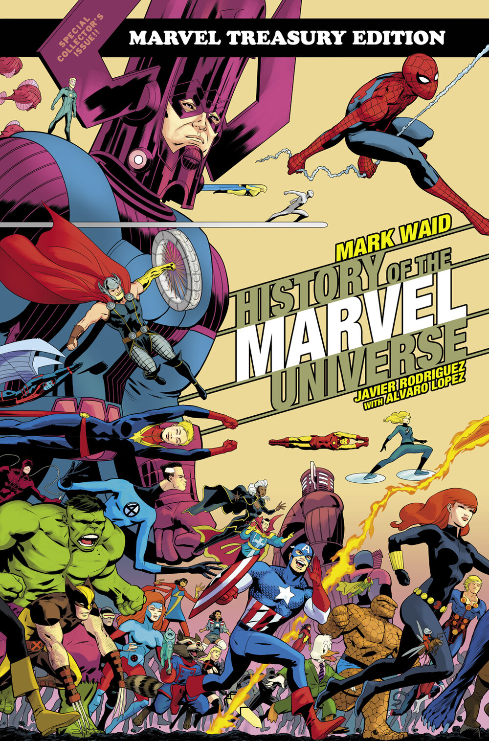 History of the Marvel Universe Treasury Edition   REVIEW — Comics ...