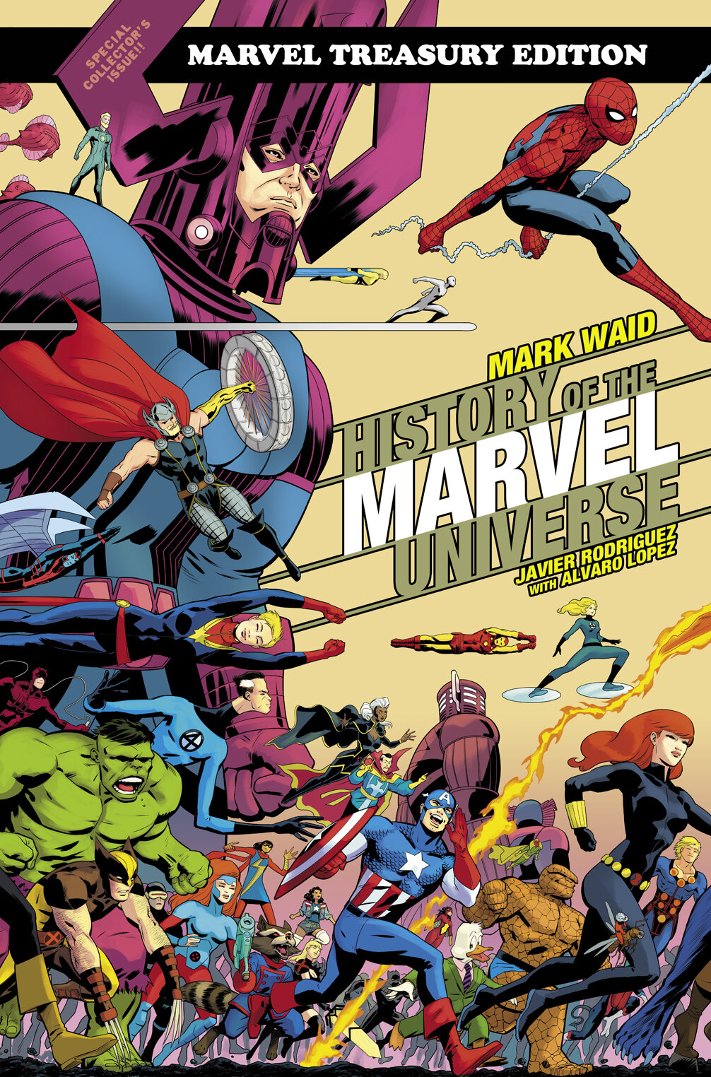 History Of The Marvel Universe Treasury Edition Review Comics Bookcase