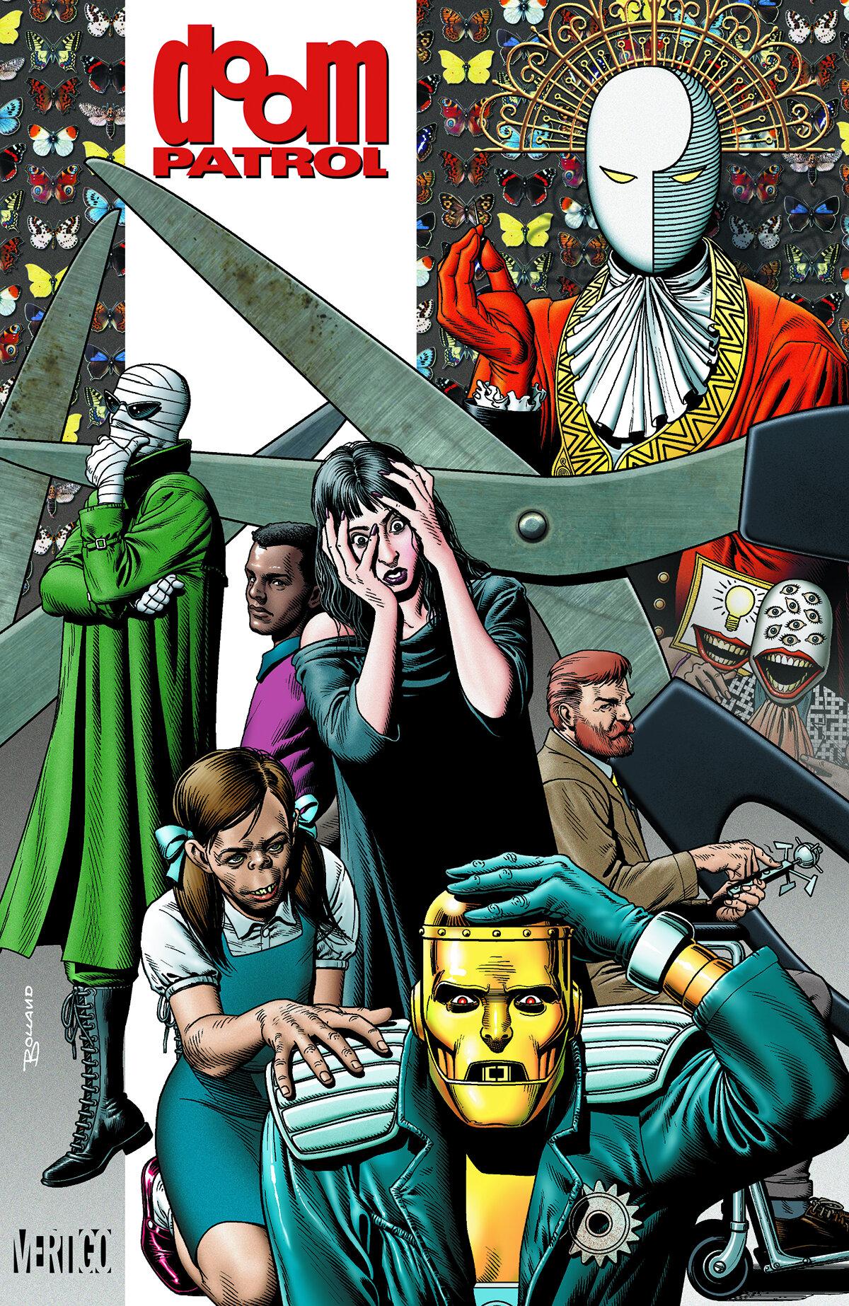 Hey Let S All Read Grant Morrison S Doom Patrol Comics Bookcase