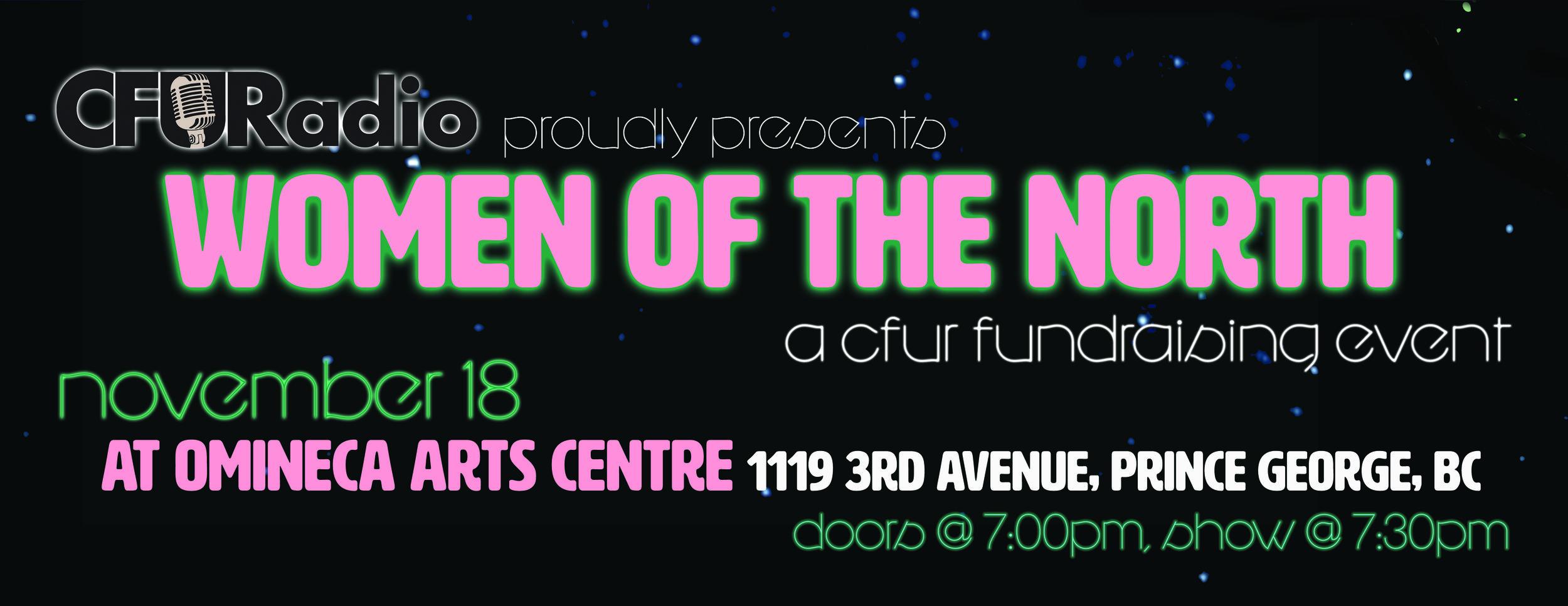 Women of the North - a CFUR Showcase