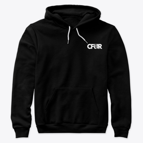 CFUR  Classic Black Hoodie