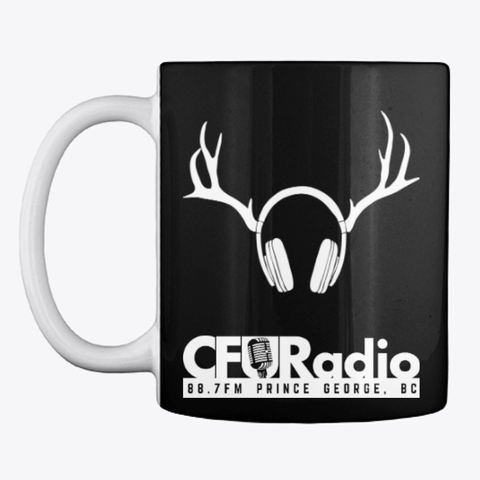 CFUR Classic Black Mug