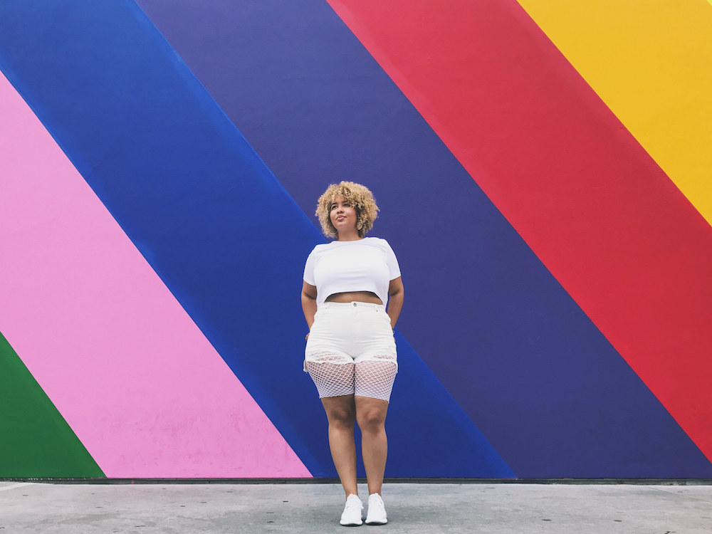 Plus size blogger and personailty, Gabi Gregg aka Gabifresh.