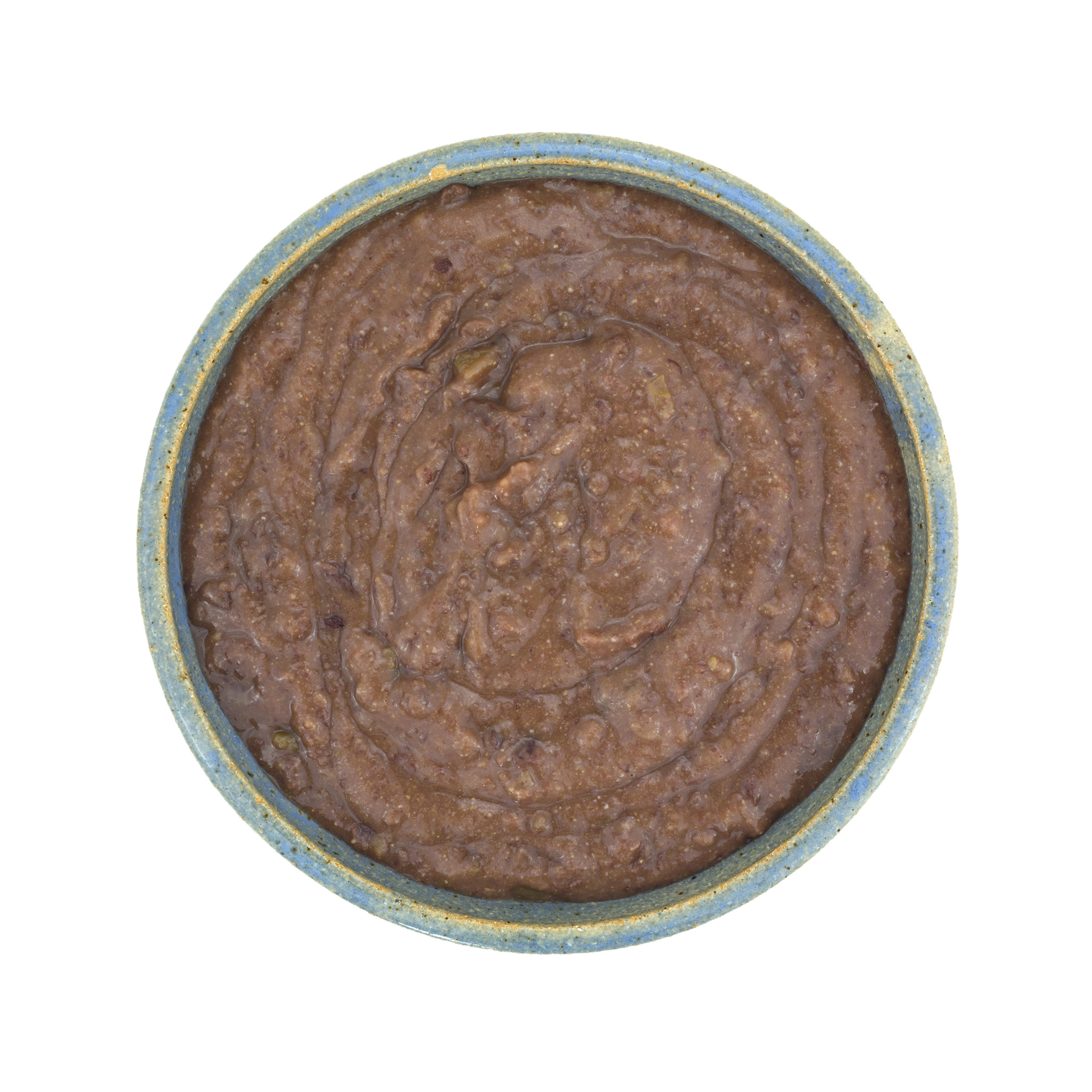 My latest batch of LFA Black Bean dip is in the freezer until tomorrow, so you'll have to settle for this Shutterstock stock photo instead :)