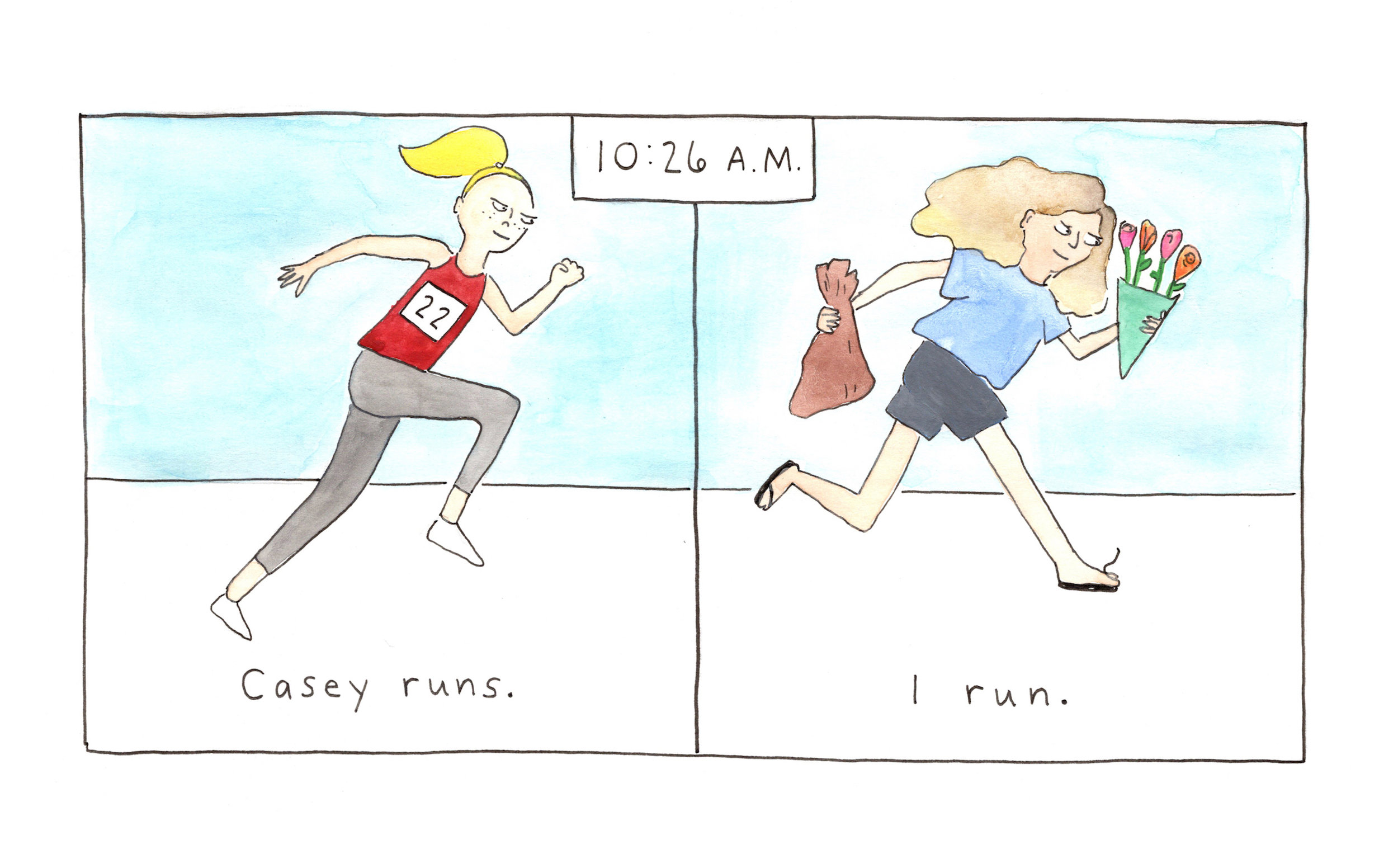 What I'll Be Doing While My Roommate Runs a Marathon - The New Yorker