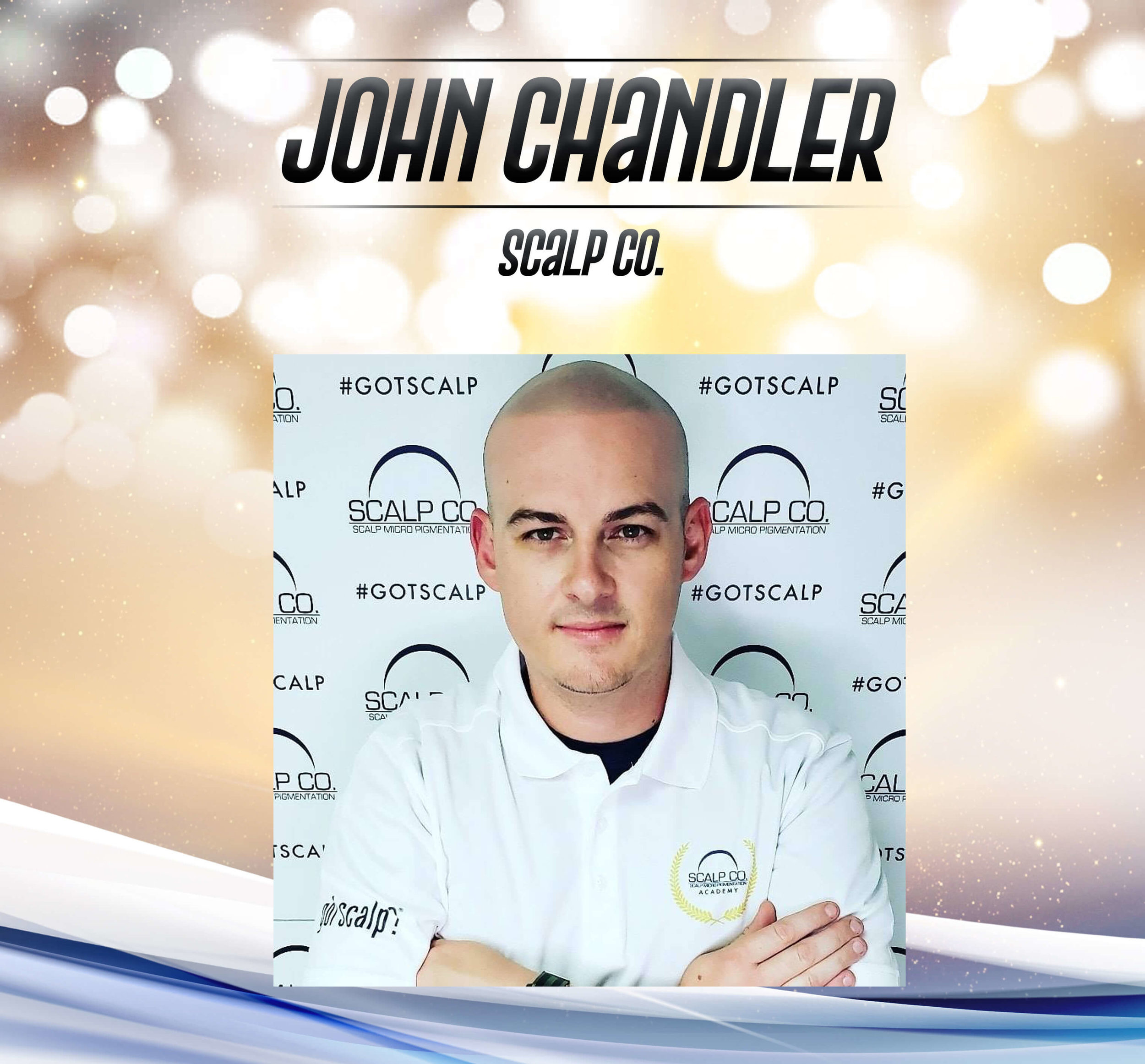 John Chandler - John offers the one on one full service doing hair fillers for women, treating male pattern baldness, and is regarded as the best in the industry in hair transplant scar camouflaging treatments. John's attention to detail and obsessive passion for his craft makes him a standout among the many providers of Scalp Micropigmentation nationwide.John Chandler has performed over 4,500+ individual Scalp Micropigmentation treatments. He is regarded as one of the most skilled SMP artists in the world. John got his start in the industry with the world renowned HIS Hair Clinic. John worked in the Los Angeles clinic for a year before moving onto Clinic Manager for HIS Hair's San Francisco Clinic for four years before opening Scalp Co.