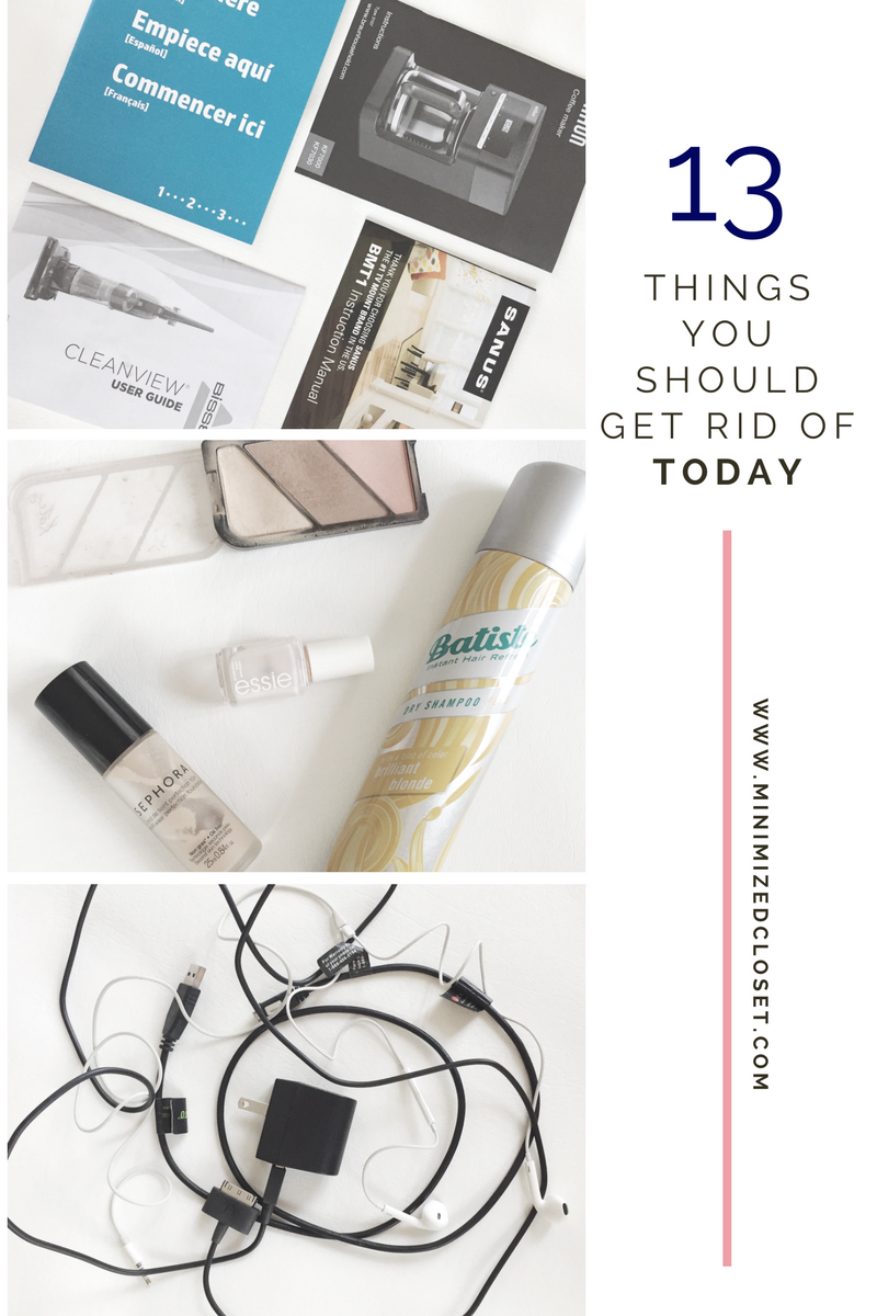 13 things you should get rid of today