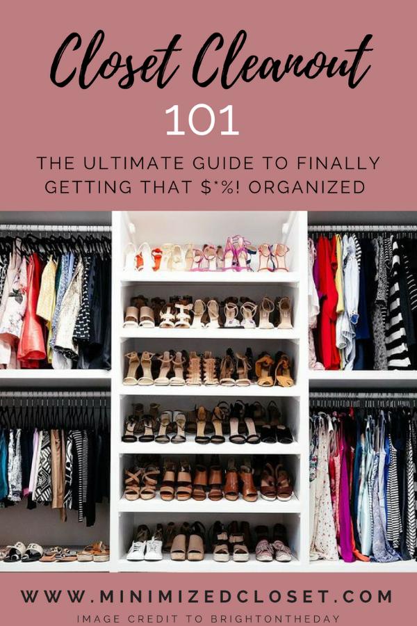 Closet Cleanout 101